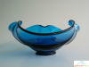"""Bluenique"" Viking Glass Bowl"