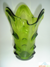 Avocado Viking Glass Vase