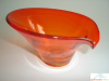 Persimmon Viking Glass Bon Bon
