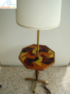 Danish Modern Lamp Table Georges Briard